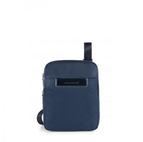 Borsello Piquadro espandibile porta iPad Celion blu