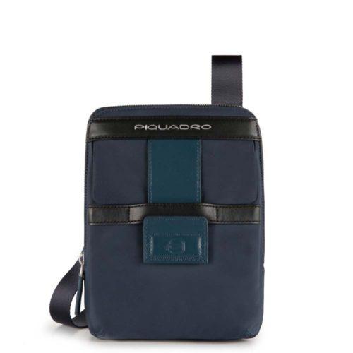 Borsello Piquadro organizzato con scomparto porta iPad mini Orion