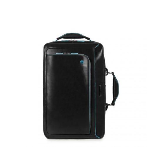 Cartella Piquadro con portabilità a zaino Blue Square nero