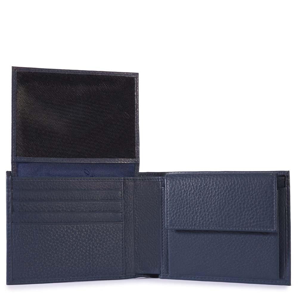 e12779aa3d Portafoglio Piquadro uomo con porta documenti, porta monete Modus ...