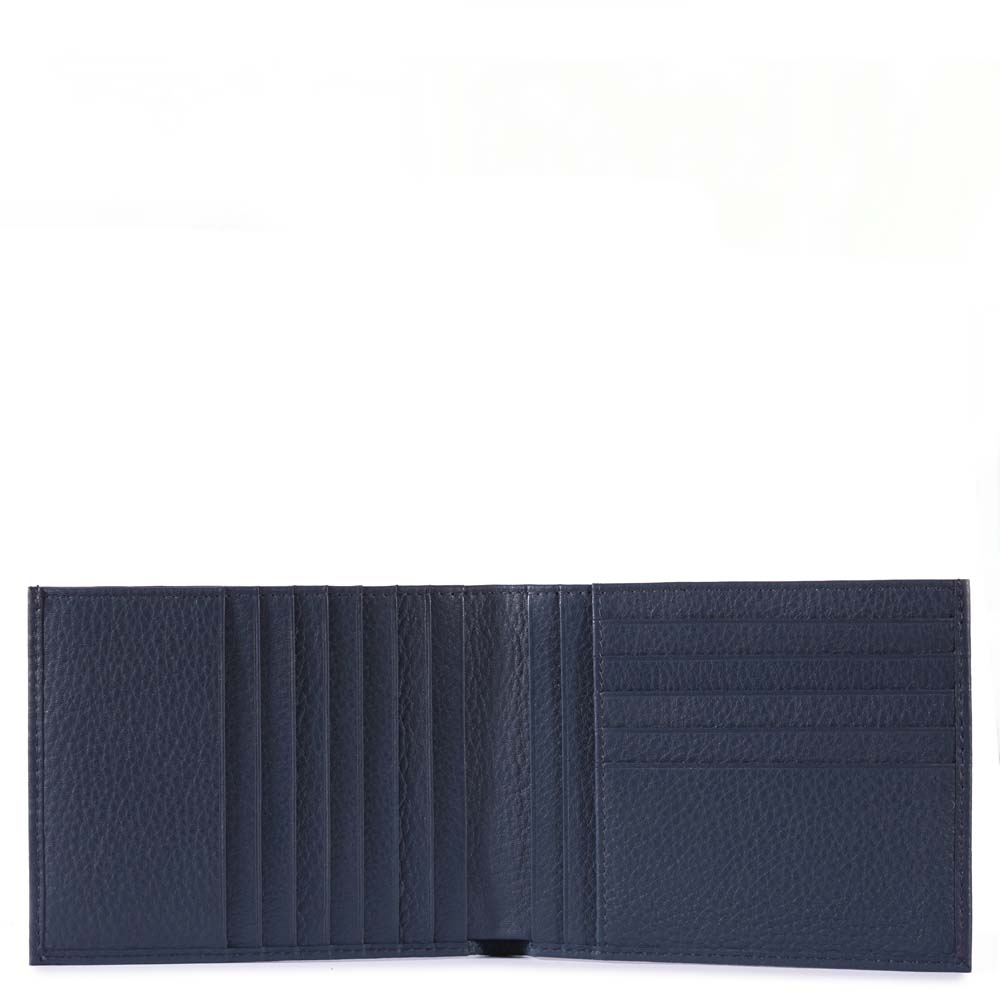 23ce6f58c9 Portafoglio Piquadro uomo in pelle porta carte di credito Modus ...