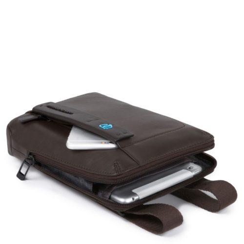 Borsello organizzato con scomparto porta iPad mini Pulse