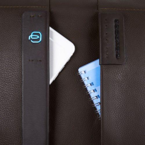 Cartella Piquadro 2 manici porta computer Pulse dett 1