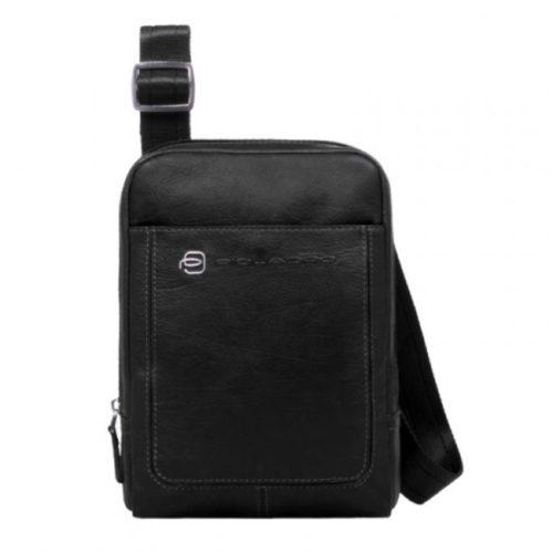 Borsello Piquadro con porta iPad mini Vibe nero