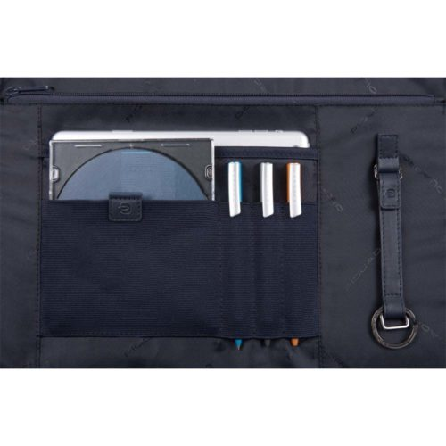Cartella Piquadro porta computer con patta ILI dettagli 3