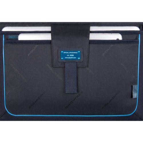 Cartella Piquadro porta computer con patta ILI dettagli 4