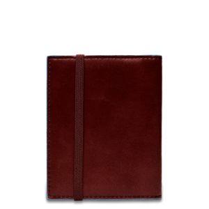 Porta carte di credito Piquadro tascabile mogano dett 2