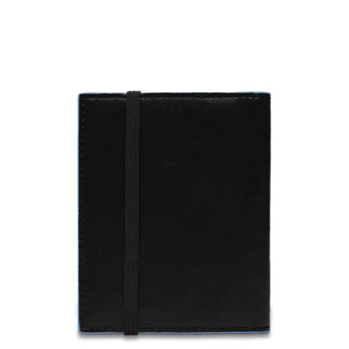 Porta carte di credito Piquadro tascabile nero dett 3