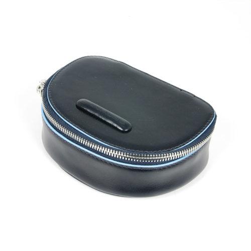 Portacamicie da viaggio con portacravatte Piquadro Blue Square blu2 .