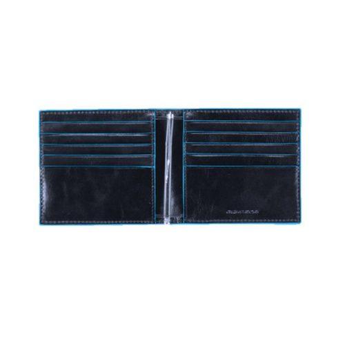 Portafogli Piquadro con molla porta dollari Blue Square blu2 interno