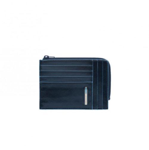 Portafoglio Piquadro ,portamonete, documenti e carte di credito Blue Square blu2