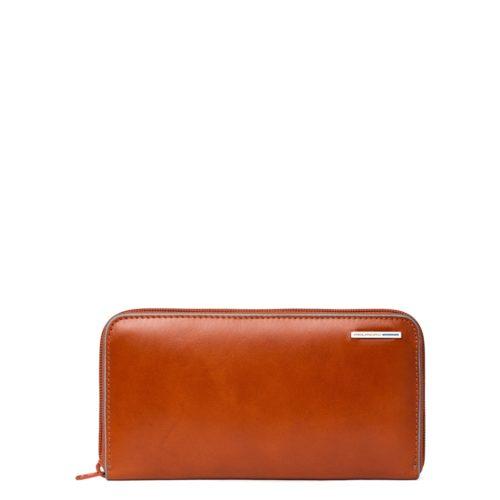 Portafoglio donna Piquadro Blue Square arancio