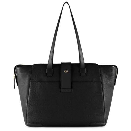 Shopping bag Piquadro porta computer Nera