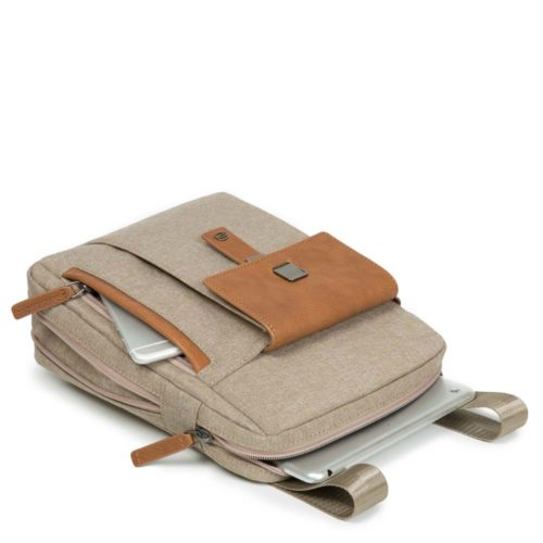 Borsello Piquadro espandibile porta iPad YUKON dett 1