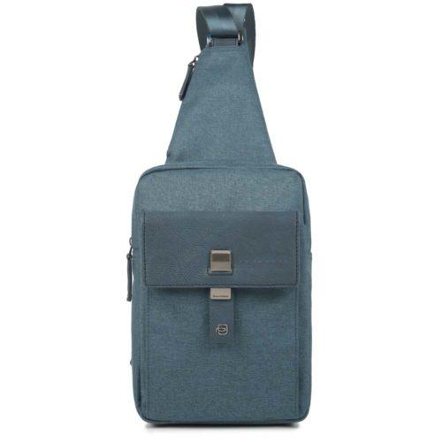 Monospalla Piquadro porta iPad®mini YUKON blu