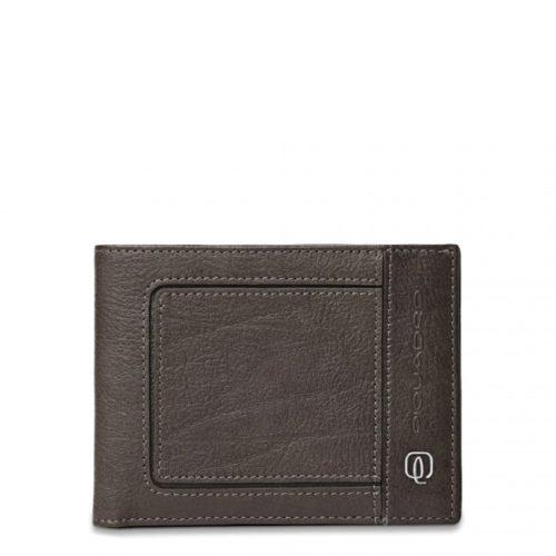 Portafoglio Piquadro uomo porta monete porta carte di credito Vibe grto