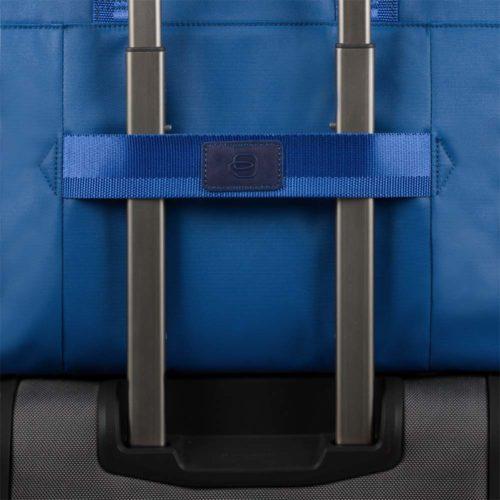 Zaino Piquadro espandibile porta PC e portabilità a tracolla ORINOCO dett 2
