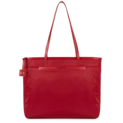 Shopping bag Piquadro rossa