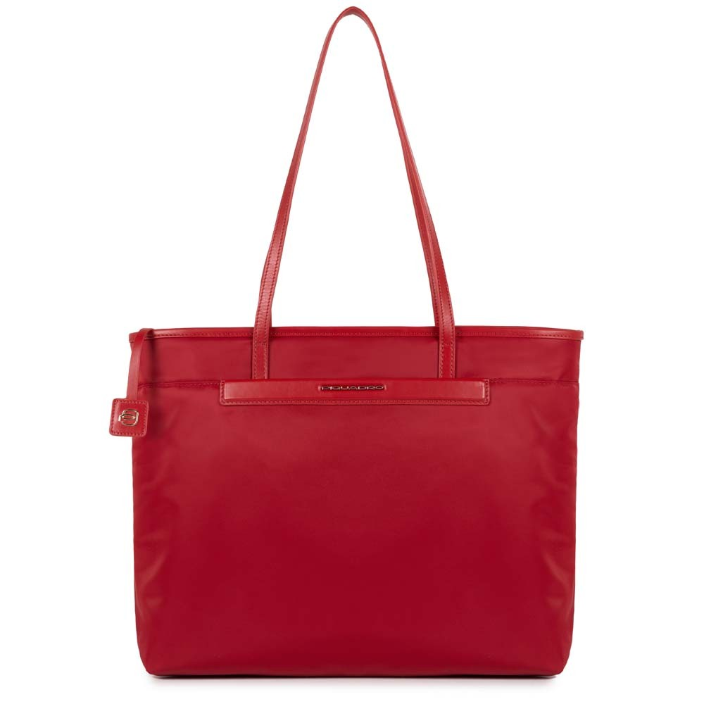 Shopping bag Piquadro rossa