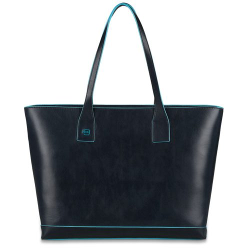 Borsa donna in pelle sfoderata Blue Square 2