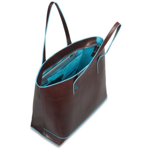 Borsa donna in pelle sfoderata Blue Square 5