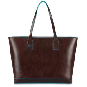 Borsa donna in pelle sfoderata Blue Square