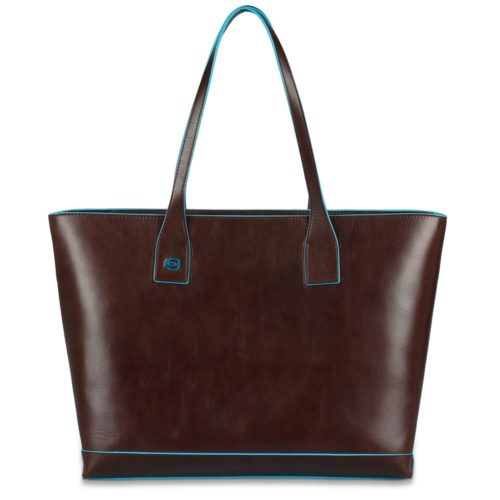 Borsa donna in pelle sfoderata Blue Square 1