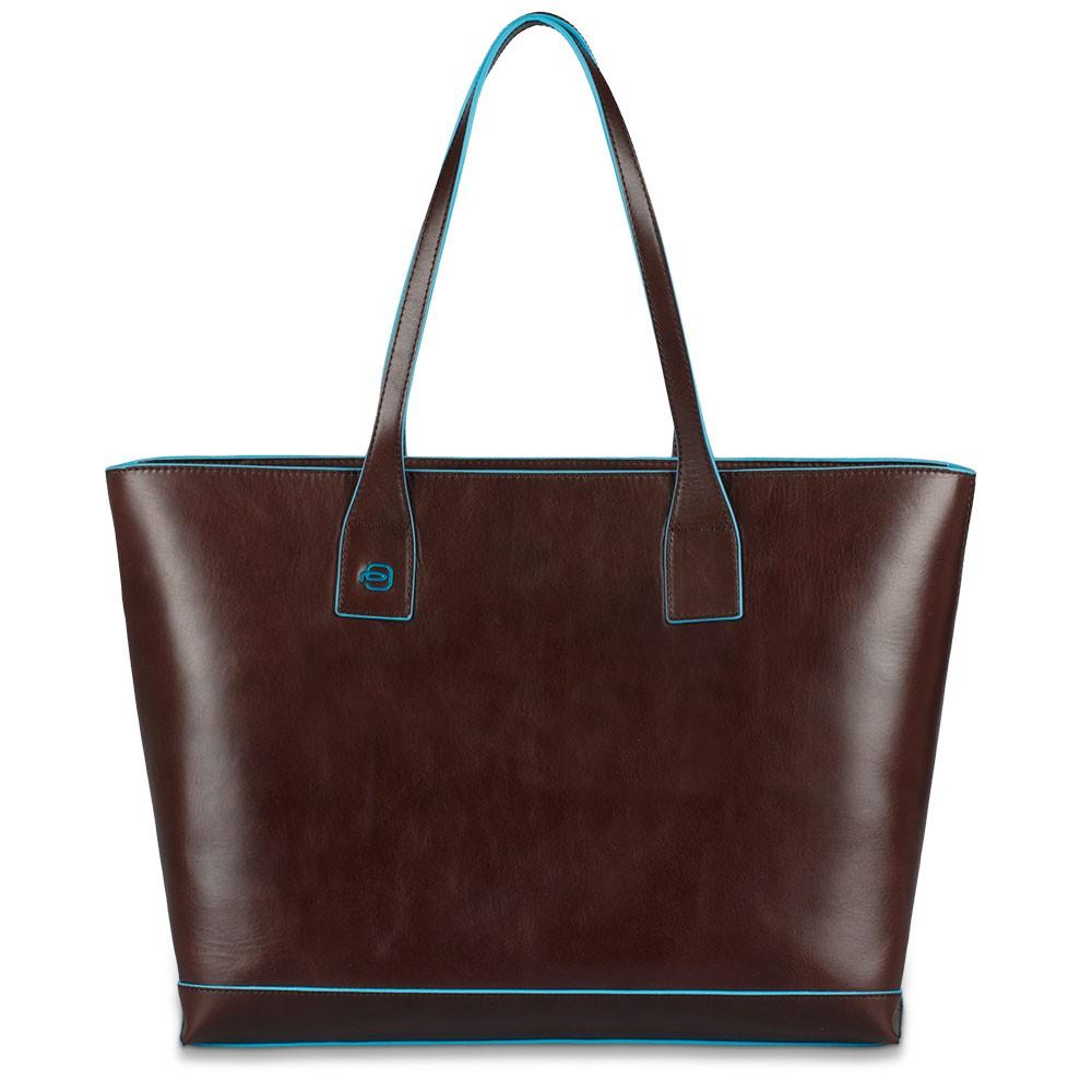 e5a7257a9a Borsa donna in pelle sfoderata Blue Square - The Gem Flagship Store -  PIQUADRO