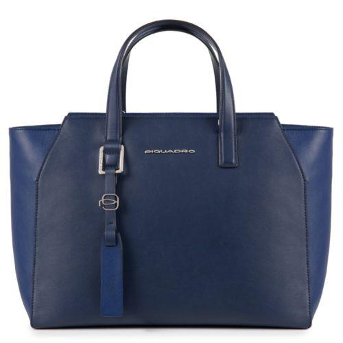Borsa donna Piquadro blu