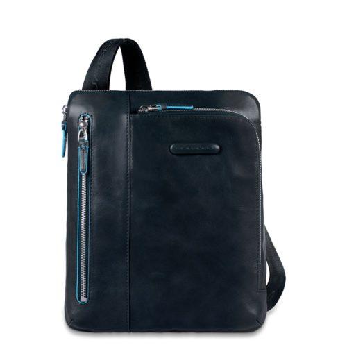 Borsello Piquadro in Pelle porta iPad/iPad Air Blue Square 1