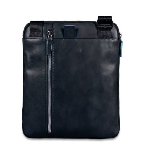 Borsello Piquadro in Pelle porta iPad/iPad Air Blue Square 2