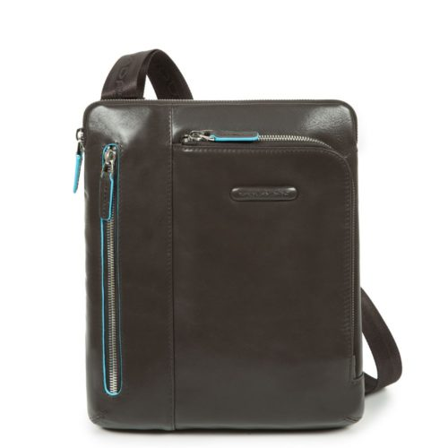 Borsello Piquadro in Pelle porta iPad/iPad Air Blue Square 11