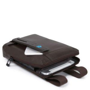 Borsello Piquadro organizzato con scomparto porta iPad mini Pulse 2