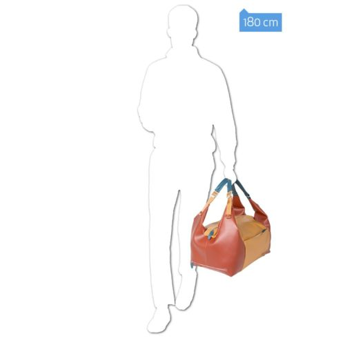 Borsone Piquadro portabilità a zaino Coleos 6