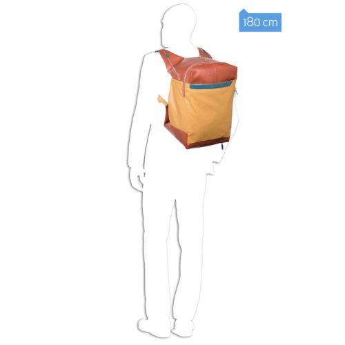 Borsone Piquadro portabilità a zaino Coleos 5