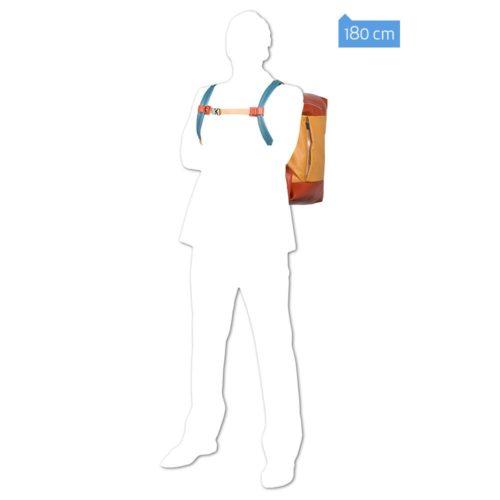 Borsone Piquadro portabilità a zaino Coleos 4
