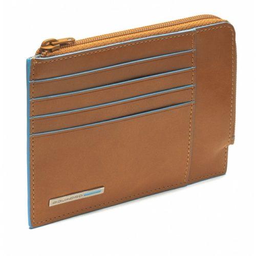 Portafoglio Piquadro ,portamonete, documenti e carte di credito Blue Square 6