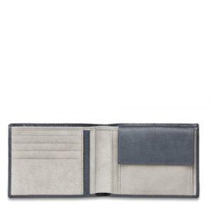 Portafoglio Piquadro uomo porta monete porta carte di credito Vibe 2