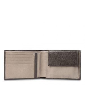 Portafoglio Piquadro uomo porta monete porta carte di credito Vibe 4