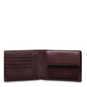 Portafoglio Piquadro uomo porta monete porta carte di credito Vibe 8
