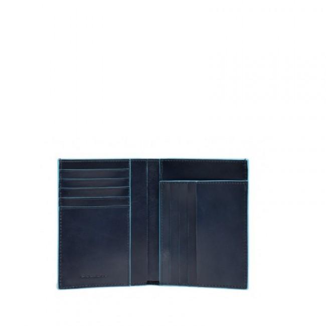 più economico 6415e e5eeb Portafoglio uomo Piquadro verticale Blue Square