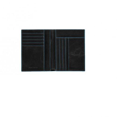 Portafoglio uomo Piquadro verticale Blue Square 7