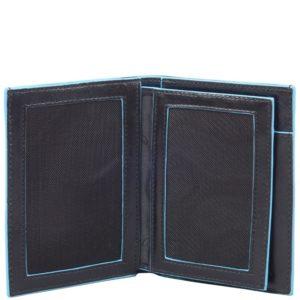 Portafoglio uomo verticale Piquadro con porta documenti Blue Square 3