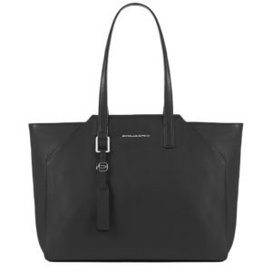 Shopping bag Piquadro Muse Colore nera
