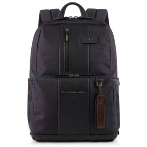 zaino brief di piquadro blue con porta notebook