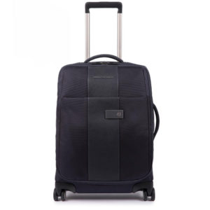 Trolley Cabina ultra slim blu